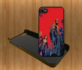 X-Men ALL BRAND Custom Case/Cover FOR Apple IPhone 4 5 Samsung S3 /S4 BLACK/WHITE WITH FREE SCREEN PROTECTOR