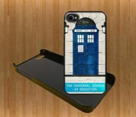 Universal SCIENCE OF DEDUCTION Custom Case/Cover FOR Apple IPhone 4 5 Samsung S3 /S4 BLACK/WHITE WITH FREE SCREEN PROTECTOR