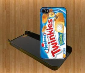 Twinkies Custom Case/Cover FOR Apple IPhone 4 5 Samsung S3 /S4 BLACK/WHITE WITH FREE SCREEN PROTECTOR