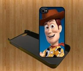 Toy Story Custom Case/Cover FOR Apple IPhone 4 5 Samsung S3 /S4 BLACK/WHITE WITH FREE SCREEN PROTECTOR