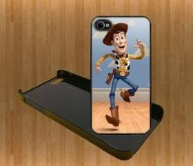 toy story Woody Custom Case/Cover FOR Apple IPhone 4 5 Samsung S3 /S4 BLACK/WHITE WITH FREE SCREEN PROTECTOR