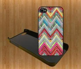 MIX COLOR CHEVRON Custom Case/Cover FOR Apple IPhone 4 5 Samsung S3 /S4 BLACK/WHITE WITH FREE SCREEN PROTECTOR