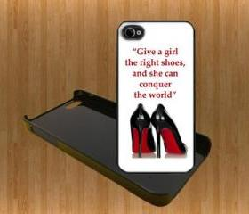 Marilyn Monroe Girl Quote Custom Case/Cover FOR Apple IPhone 4 5 Samsung S3 /S4 BLACK/WHITE WITH FREE SCREEN PROTECTOR