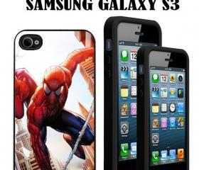 NEW-Spider Man comics Custom Case/Cover FOR Apple IPhone 4 5 Samsung S3 /S4 BLACK/WHITE WITH FREE SCREEN PROTECTOR